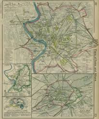 Athens Ohio Map by