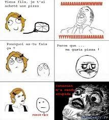 Les Memes - les memes 礑a rend b礫te oh crap rage comics francais troll face