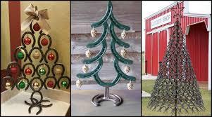 horseshoe christmas tree horseshoe christmas tree