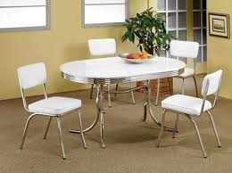 50s Dining Chairs Brilliant Dining Table Retro 2 Tone Oval Dining Tables And Chairs