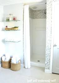 Small Shower Curtain Rod Cameo Small Shower Curtain Tension Rod Shower Curtains Design