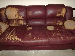 Leather Sofa Used Inspiring Ideas Photo Tremendous Worn Leather Repair Gallery