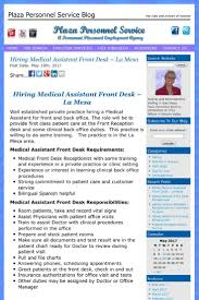 Front Desk Jobs Hiring by Are You Looking For An Opportunity To Work In A Doctors Office We