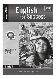 english for success grade 7 teacher u0027s guide wced eportal