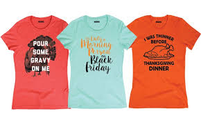 thanksgiving t shirts women s thanksgiving t shirts groupon goods