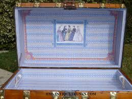get an antique trunk coffee table from hms antique trunks hms