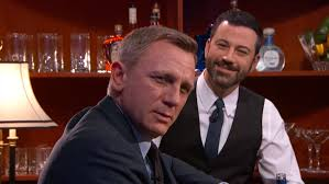 vodka martini shaken not stirred daniel craig orders james bond cocktails on u0027jimmy kimmel