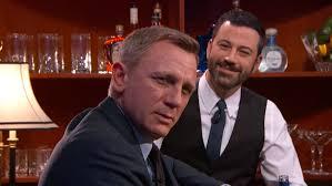 james bond martini shaken not stirred daniel craig orders james bond cocktails on u0027jimmy kimmel