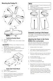 tekonsha prodigy wiring diagram tekonsha wiring diagrams instruction
