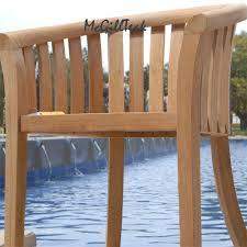 Wood Patio Chairs Wood Patio Chair Napa