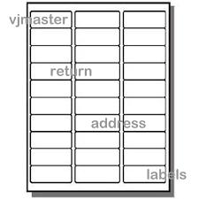 return address labels template 30 per sheet u2013 aiyin template source