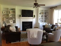 White Wood Bookcases by Living Room Large White Wooden Bookcase With Fireplace And Black