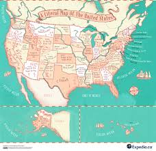 Map Of Cayman Islands Map Reveals The Meaning Behind Place Names In The Usa And Canada