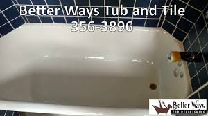 Bathtub Refinishing Portland Fiberglass Shower Refinishing Portland Youtube