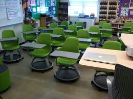 Student Desks For Classroom by Collaboration Ottomans Chairs On Wheels Which 21st Century