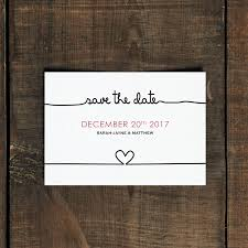 make your own save the date scribble wedding invitation and save the date by feel wedding