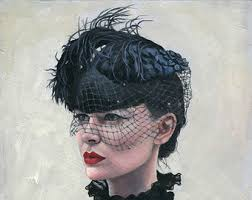 funeral hat funeral hats with veil veil velvet or sati n feather