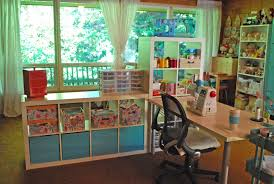 Sewing Room Wall Decor Interior Fascinating Sewing Room Decorating Design Ideas With