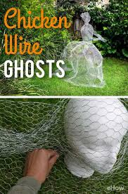 Halloween Decorations To Make At Home Best 25 Chicken Wire Ghosts Ideas On Pinterest Diy Haunted