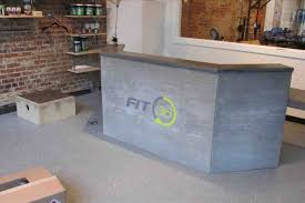 Concrete Reception Desk The Images Collection Of R O M A N F Mrhromanformcom Made