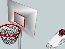 mini panier de basket de bureau mini jeux de basket imprimés en 3d