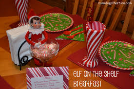 come together kids elf on the shelf breakfast