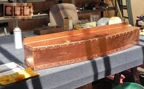 cbd u0027s custom copper sheet metal fireplace mantle work page
