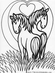 horses coloring pages u2013 wallpapercraft