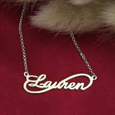 necklace with name online images Online shop personalized infinity necklace custom name necklace jpg
