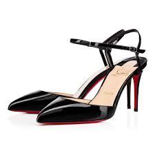 rivierina patent 85 black patent women shoes christian louboutin