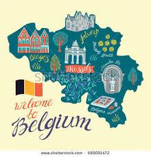 map of belgium belgian map stock images royalty free images vectors