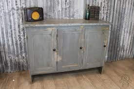 zinc and pine industrial sideboard antiques atlas