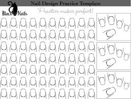 new nail design ideas nail design template printable fingernail