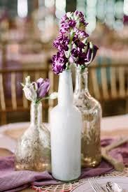 Purple Wedding Centerpieces Swoon Worthy Rustic Chic Purple Wedding Decor Mon Cheri Bridals