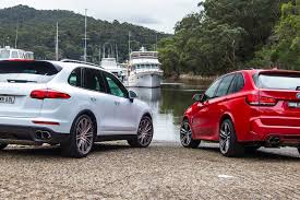 porsche cayenne 3 2 review 2015 bmw x5 m vs porsche cayenne turbo