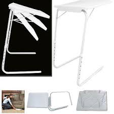table mate tv tray new portable table mate adjustable tv dinner tray folding fold table