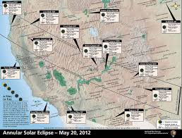 Utah Map National Parks by Nps Explore Nature Annular Eclipse Where To View