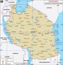 latitude map tanzania latitude and longitude map http www mapsofworld com