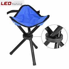 22x 22x31cm outdoor hiking fishing folding stool portable triangle