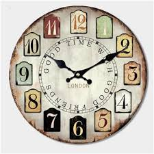 Large Shabby Chic Wall Clock by Shabby Chic Home Decor Best Sales On Cool Wall Art Pillows And