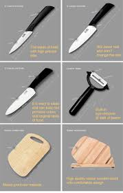 ceramic knife set by sipka advanced ceramic revolution 6 piece deal