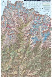 China Camp Trail Map by Map Of Khumbu Region Of The Nepal Himalaya