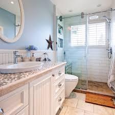 chambre de bain d馗oration salle de bain au look chêtre bord de mer salle de bain avant
