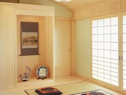 Japanese Area Rug Wood Ceiling Floor Track Lights Glass Coffee Table Artwork Built