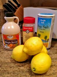how to master cleanse master cleanse cayenne peppers and maple