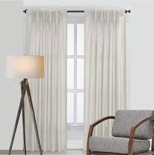 how to hang pencil pleat curtains on a pole glif org