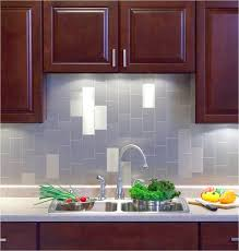 Peel And Stick Metal Backsplash by Styles And Sizes Of Peel And Stick Wall Tiles Nice And Shiny Very