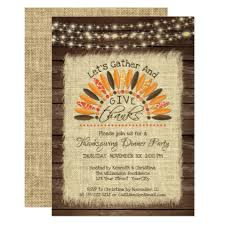 rustic wood and burlap thanksgiving card thanksgiving