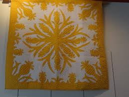 yellow mustard color yellow mustard color hawaiian quilt picture of hawaiian quilt