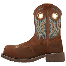 s fatbaby boots size 12 ariat womens fatbaby 8 inch composite toe boot 10016245